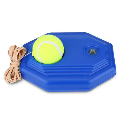 Tennis Ball Singles Training Practice Balls Back Base Trainer Tools + Tennis
