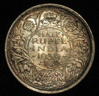 1939, Half Rupee from India.  No Reserve!