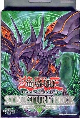 Yugioh Dragon's Roar Structure Deck 1st Ed/Unlimite SD1 Red Eyes Darkness NO BOX