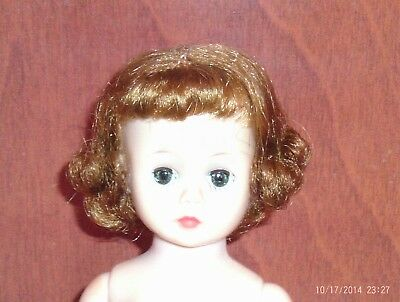 vintage 9in. h/p Madame Alexander Cissette doll for part or restore