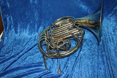 Holton H179 Double French Horn  Nickel finish
