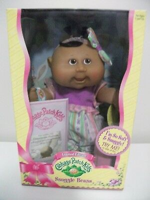 """NEW IN BOX 2006 Cabbage Patch Kids  Limited Edition Snuggle Beans approx10"""" size"""