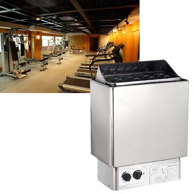 8KW Sauna Heater Stove Health Care External/Internal Control For Bath Shower Kit