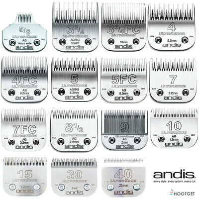 ANDIS UltraEdge Skiptooth Finish Cut Dog Clipper Blade fits Wahl KM2 KMSS Andis