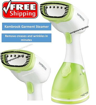 Garment Steamer Portable Clothes Iron Fabric Crease Wrinkle Remover Ironing