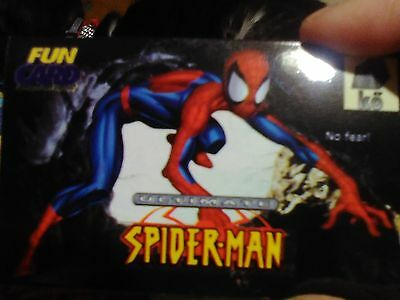 Mint! Spiderman Artistic Glossy Trading Cards. 1 Of 3. Photograph Quality!
