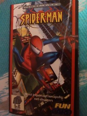 Mint! Spiderman Artistic Glossy Trading Cards.#3 Of 3. Photograph Quality!