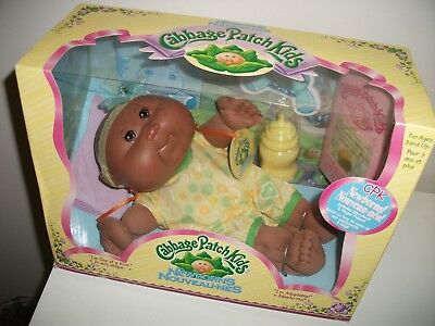 """NEW 2006 Cabbage Patch Kid  Newborn Approx 11"""" Good sized doll for toddlers."""