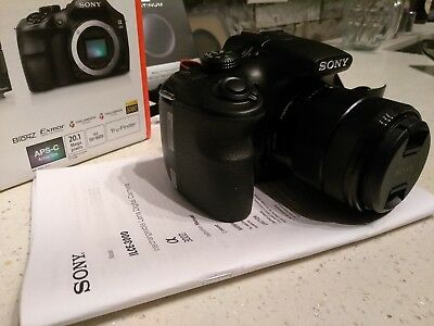 Sony Alpha a3000 20.1MP Digital Camera - Black (Kit w/ E OSS 18-55mm Lens)