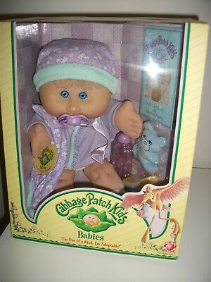 NEW 2005 Play Along Cabbage Patch Kid 'Babies' Baby Girl + Accessories & Dummy