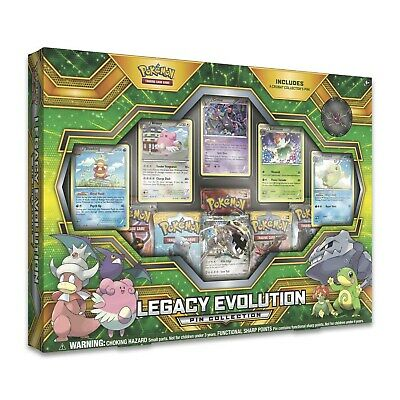 NEW! Pokemon TCG Legacy Evolution Pin Collection