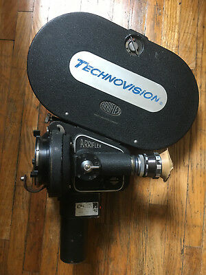 Arriflex IIC 35mm Camera, Hard Front BNCR, Variable and Sync Motors ANAMORPHIC!