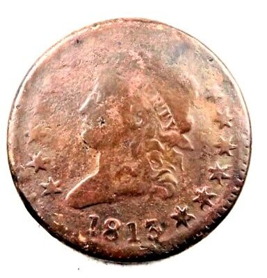 1813 Classic Head Large Cent // VG // Better Date! // (LC151)
