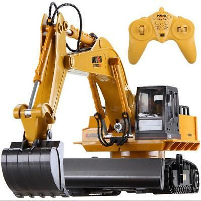 11 Channel R/C Remote Control Car Excavator Construction Digger Engineer vehicle