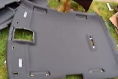 audi a3 5 door s line black roof lining with trims 2003-2012