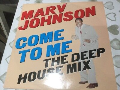 Motown Soul Meets House Marv Johnson Ian Levine Production Come To Me
