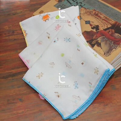 30*30 100%Cotton 4Layer Gauze Newborn Baby Feeding Cloth Face Bathing Hand Towel