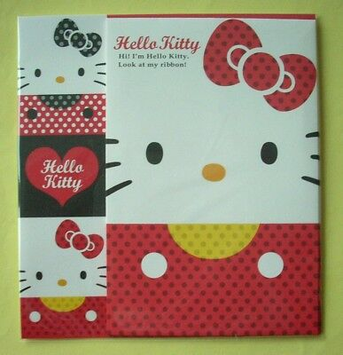 Sanrio Hello Kitty Look At My Ribbon Letter Set