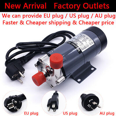 Food Grade Homebrew Magnetic Drive Pump 15R With Stainless Steel Head