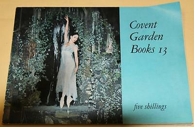 Souvenir Covent Garden Books 13 Ballett Programe With Ticket Stub From 1964 - Ex