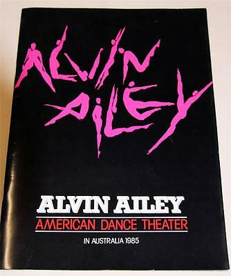 Alvin Ailey American Dance Theatre In Australia 1985 Souvenir Program - Exc