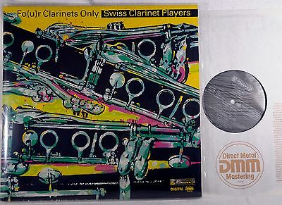 RARE CLAVES Swiss Only LP Swiss Clarinet Players - Four clarinets only -