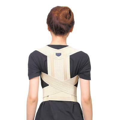 Waist Full Back Lumbar Shoulder Support Posture Corrector Belt Corrective Brace