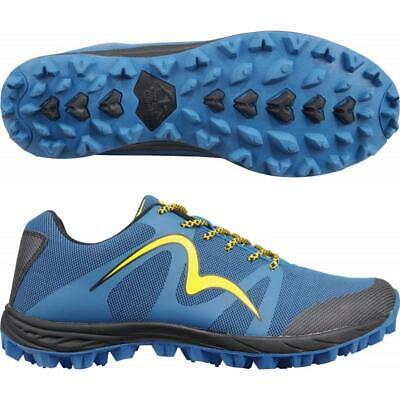 More Mile Cheviot 4 Mens Off Road Trail Running Hiking Fell Shoes Trainers Blue