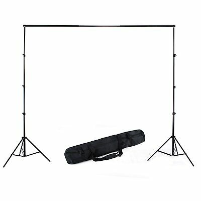 3x2.8m Photography Background Backdrop Light Stand Aluminum Support Studio Kit