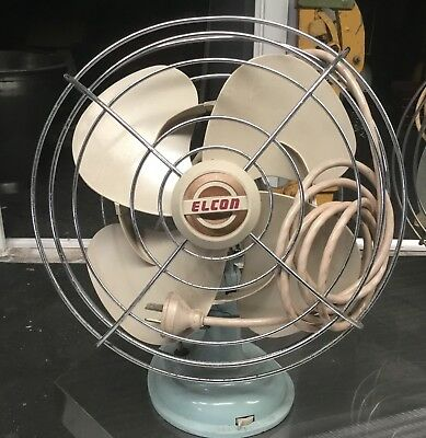 Elcon Fan Vintage Industrial