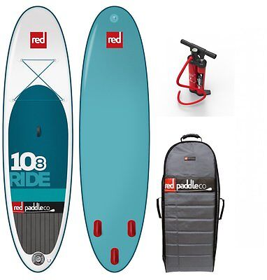 Red Paddle Set 10.8' Family Board teneight Surfer REDAIR SUP 2015
