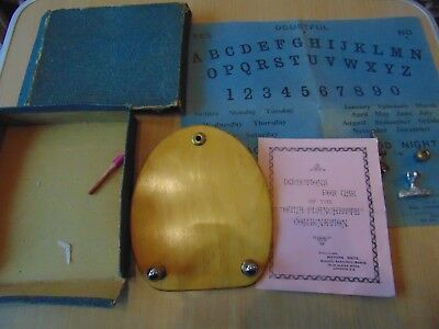 19th CENTURY METAPHYSICAL OUIJA OUIJI PLANCHETTE BOARD GHOST HUNT PARANORMAL