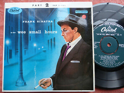Frank Sinatra In the Wee Small Hours Pt.2 4-Track EP 1955 **EX+**