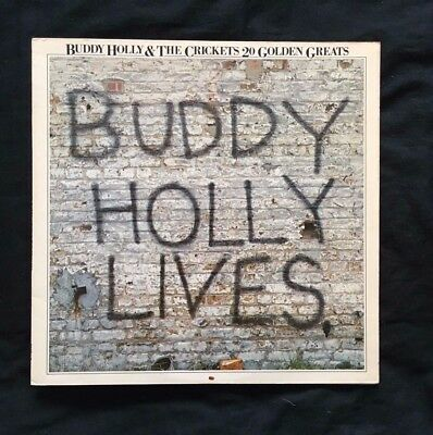 Buddy Holly Lives - 20 Golden Greats - Vinyl LP Album