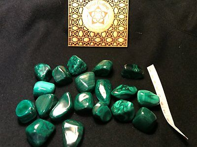 One Malachite stone is a protection stone ~Wicca~Free Spirit