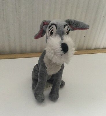 Disney Store - Tramp Soft Plush Disney From Lady And The Tramp