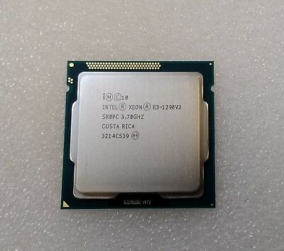 Intel Xeon Processor E3-1290 v2 8M Cache 3.70 GHz Quad Core CPU SR0PC LGA1155