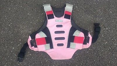 Harry Hall Body Protector pink child