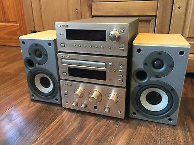 TEAC H300 series HI FI STEREO SEPARATES Tuner / Cd and Amplifier