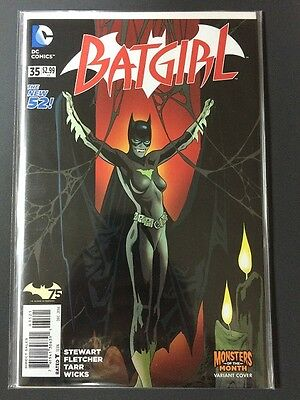 Batgirl #35 - Monsters Of The Month Variant - The New 52 - NM