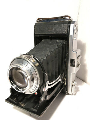 Zeiss Ikon NETTAR 518/2  Folding camera with Fast NOVAR 105/3.5