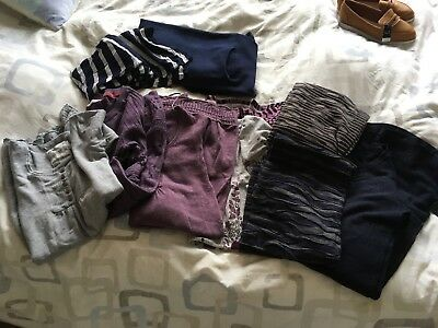 Bundle Of Long Tops/short Dresses 8-12 (Fat Face, Phase Eight, Apricot, Next)