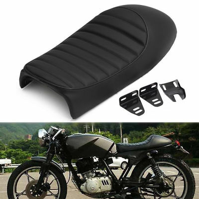 Motorcycle Cafe Racer Hump Cushion Seat Saddle for Honda Suzuki Kawasaki Yamaha