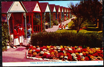 1961 - Butlins Skegness  - Typical Butlins Chalets In Colourful Floral Settings