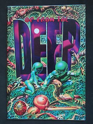 Up From the Deep #1 2nd print: '70s comix featuring R. Corben. Tight copy.