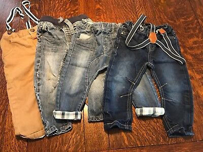 Boys Jeans Bundle 12-18 Months