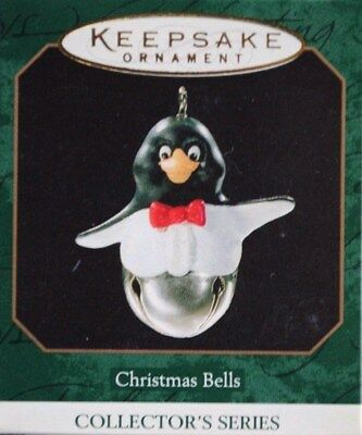 Christmas Bells 'The Penguin' 1999 Miniature Ornament Hallmark  #5 in the series