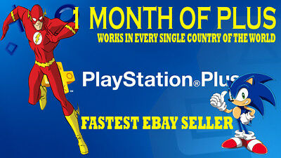 Playstation Plus 14 Days - Psn - Ps3, Ps4 - Fast Send - Works In All Countries