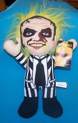 Toy Factory Beetlejuice Rag Doll Plush NWT