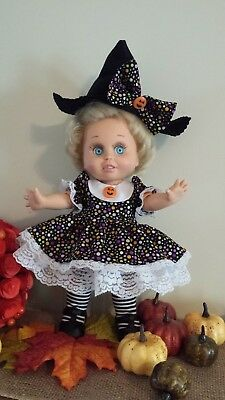OOAK Too cute to spook dress for Galoob Baby Face doll